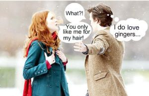 the Doctor loves gingers by MarstersStalker77