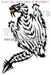 Monster Hunter Barioth Tribal Design by WildSpiritWolf
