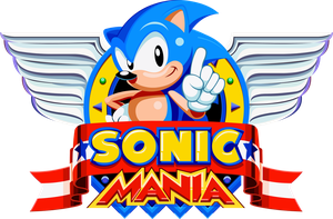 Sonic Mania Title by Doctor-G