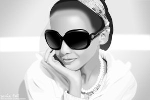 A Little Hepburn Design by thesashabell