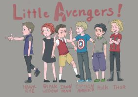 little avengers by d198