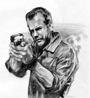 Kiefer Sutherland by sabbathsoul