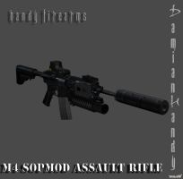 M4 SOPMOD by DamianHandy
