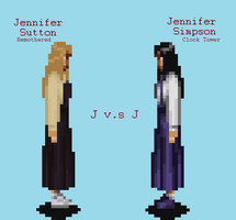 Jennifer Simpson V.S Jennifer Sutton by JengaSoft