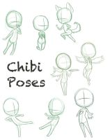 Chibi Pose Dump by ConcreteDreams