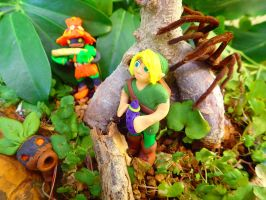Link in the Lost Woods by pythoncasey