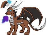 Lilla (Full Reference - Dragon Form) by Saachi1399