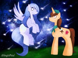 .: Swift Star - Meeting Diamond Moon :. by ASinglePetal