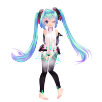Tda Chibi Miku - DOWNLOAD by YamiSweet