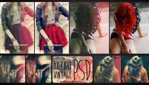 RetroVintage PSD by Ihavethedreamersdise