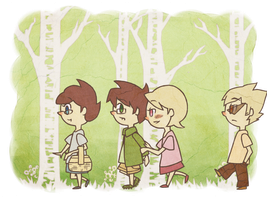 Walk in the Woods by blindleap