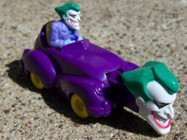 The Joker goes for a Joyride by Crigger