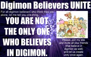 DIGIMON BELIEVERS UNITE! by Kynata