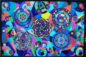 Abstract Mandalas by unspoken411
