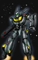 RICH'S ROBOTECH COLOR WIP by GLENNGRAPHICS