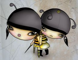 queen bees by elanamullaly