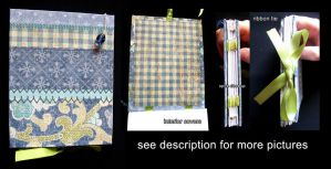 Hand Made Books: Patchwork by sambees