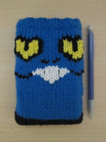 Knitted Croagunk DS Pouch by Vidimus78