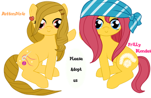 Pony Adoptables - Designers [SOLD] by HeartRoyali