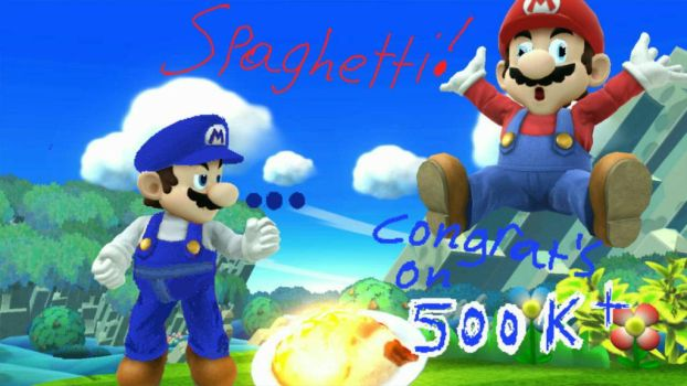 SMG4 500k subs picture by Shujinko16