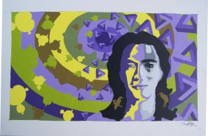 2d final proyect: selfportrait by Lightingboy
