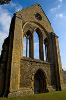 Valle Crucis Abbey by elward-photography