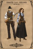 Character Class: Gunslinger by Machina-Obscura