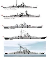 German warships by 121199