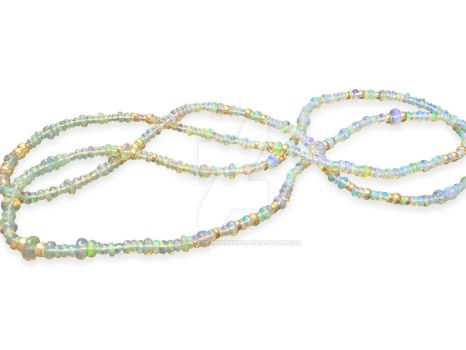 Ethiopian Opal Necklace by GoldsmithsApprentice
