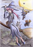 Jinxed colored pencil by Thurosis