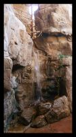 Waterfall In the Desert by AokiBengal