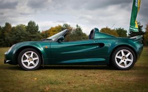 S1 111S, Lotus Racing Green by FurLined