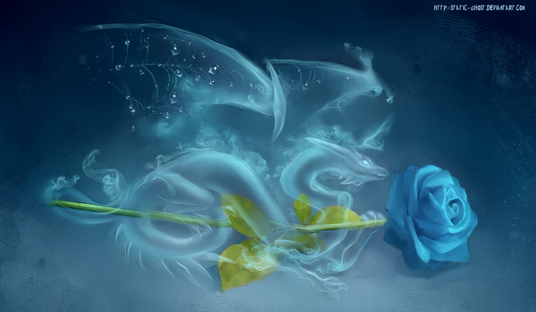 Wind rose dragon by Static-ghost
