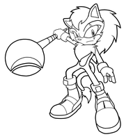 Ferox Lineart SA Style by StrayTree