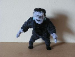 Frankenstein's Monster by fuzzyfigureguy