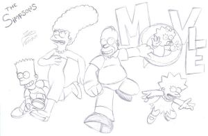 THE SIMPSONS MOVIE by Ian-the-Hedgehog