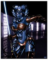 Star Wars Legacy :: Lightside version by richmbailey