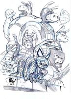 ULTIMATE SPIDER-HAM by Wieringo