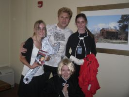 Our photo with Vic Mignogna by peppermix14