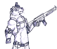Call of Duty Otter by Salvestro