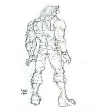 Winter Soldier Pencils by rogercruz