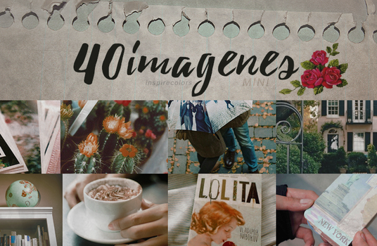 40 Imagenes | Pack 2 by Inspirecolors