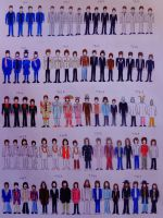 Beatles fashion evolution. by nikosst