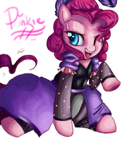 SEDUCTIVE PINKIE by TheGalacticKat