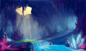 Flash mob_Landscapes_cave by Stasushka