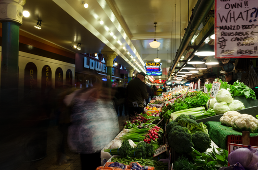 Pikes Place Market by NeonAuraPhotography