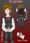 OFFICIAL CREEPYPASTA REFERENCE: Gentleman by InvaderIka