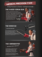 TF2 The Medical Precision Pack by oneirossc