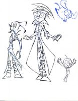 Invader zim -  future character drawing by winddragon24