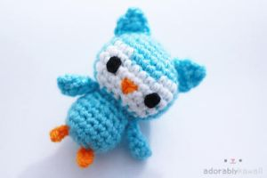 Tiny Owl Amigurumi by adorablykawaii